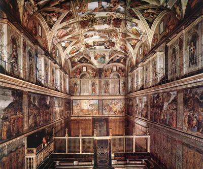 Michelangelosistine_chapel_2